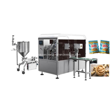 Peanut Butter Rotary Standup Bag Packaging Machine