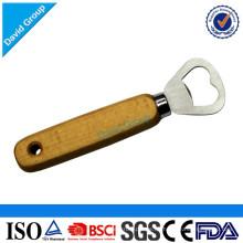 Abrelatas de letra de madera de encargo al por mayor certificado del proveedor superior