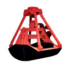 Elektrischer hydraulischer Schrott-orange Schalen-Grab-Eimer