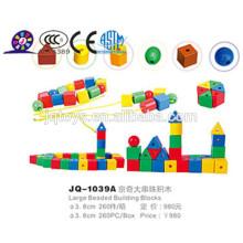 2016 De plástico de rosca juguete de cuentas para niños