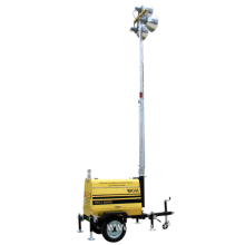 10kVA  Light Tower Generator Set