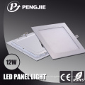 12W White LED Ceiling Light with RoHS (Square)