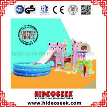 Kinder-Gesundheitszentrum Kunststoff-Slide Swing mit Ball Pit