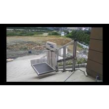 silla de ruedas inclinada al aire libre ascensor para discapacitados / persona elevador de pasajeros Ascensor