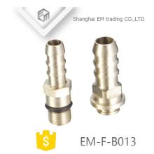 EM-F-B013 Chromed Pagota Head Thread Latón Adaptador de conexión de tubería