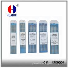 Electrodo de tungsteno para TIG soldadura (WP WT10, WT20, WCe20, WL10, WL15, WL20, WZ8)