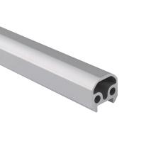 Peinture de puissance de tuyau d'extrusion en aluminium personnalisée