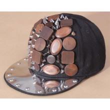 2013 venta caliente roca bailarín hiphop punk snapback tapa sombrero personalizado
