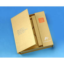 Paper Cardboard Chocolte Gift Packaging Box Open Two Side