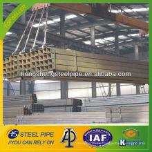 Tubo de acero cuadrado de acero al carbono ASTM A53