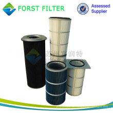 FORST Fertigung gefaltete Filter Staubreinigung Luftfilter für Zementindustrie Luftfilter