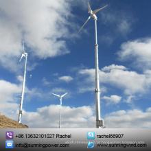 Preços livres da turbina eólica da energia livre horizontal 5kw
