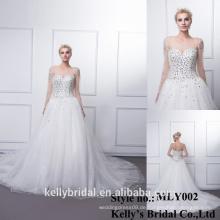 Westlicher Stil attraktiver Preis mit hoher Qualität und modischem atmungsaktives, individuelles Hochzeitskleid