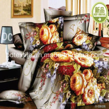 100% Polyester Printed Bed Sheet Fabric