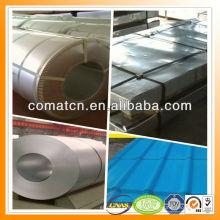 Aluzinc pintado galvanizado acero bobina AZ100g/m2, acero del Galvalume, China planta