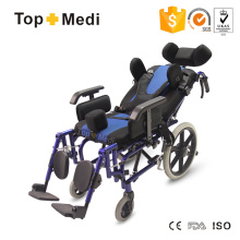 Topmedi Liegestuhl mit hoher Rückenlehne für Kinder mit Zerebralparese