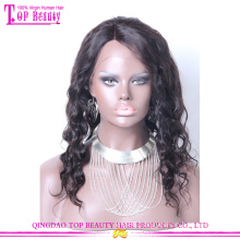 2014 Spring Fashion style 100% virgin brazilian hair full lace wig with baby hair