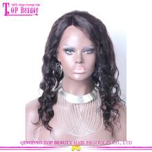 Весна 2014 Мода стиль 100% Виргинские бразильского волос полный парик шнурка с ребенком волос