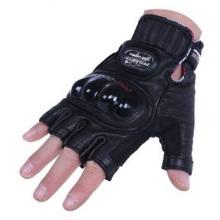 Gants promotionnels de motard, les hommes moyens de moitié montent des gants de moto en cuir