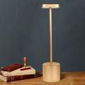 Lámpara de mesa LED inalámbrica recargable