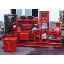 Pompe d'aspiration finale utilisée comme pompe de lutte contre l'incendie