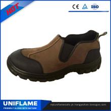 Sapatos de segurança de couro Nubuck Ce Ufb005