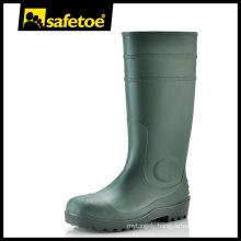 Gum rain boots,plastic gum boots,green gum boots W-6037G