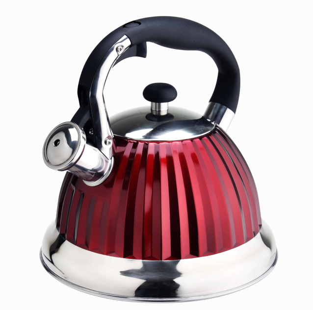 Induction Whistle Red Diamond Tea Kettle 406