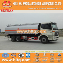 FOTON 6X4 23000L oil truck with oil pump hot sale in China