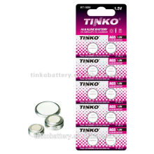 light and reliable cell battery AG0 1.5v LR63 Alkaline button cell battery