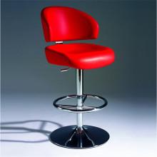 Современная удобная PU кожаный барный стул с хромированной ноги (СП-HBC369)