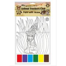 Libro de relleno de color para niños / Libro de pintura mágica para niños