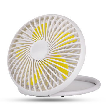 Mini-ventilateur rechargeable portable de table de bureau détachable
