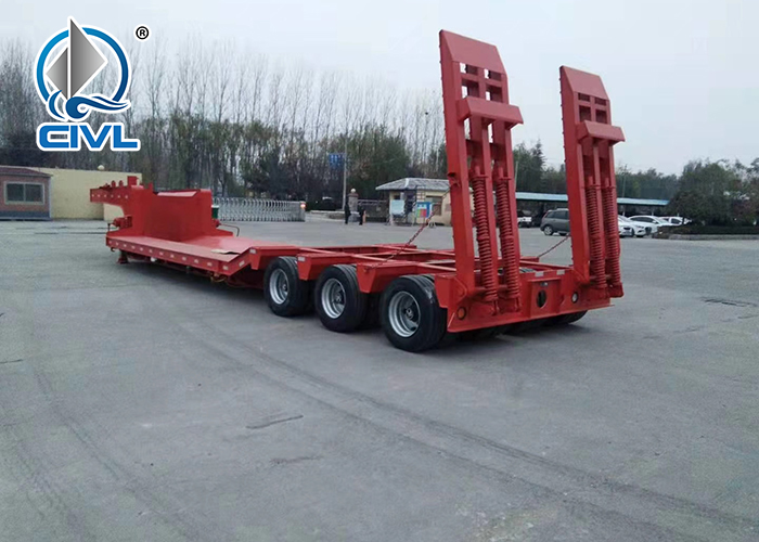 3 Axle Low Bed Semi Trailer 2
