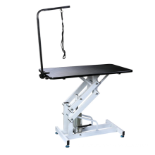 Z-type 304 stainless steel hydraulic lifting beauty table pet grooming table for sale