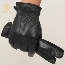 Los mejores guantes de la motocicleta del cuero del motorista de la manera de la calidad