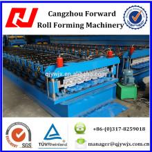 QJ-840-900 doble capa de acero / panel de pared que hace la máquina