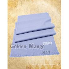 Plain color wool pashmina shawl