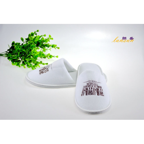 Terry Towel Hotel Zapatilla Desechable Hotel Slipper