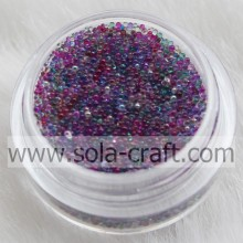 Latest Fashion Mini Clear Beautiful Crystal Glass Bead &Little Glass beads Without Hole