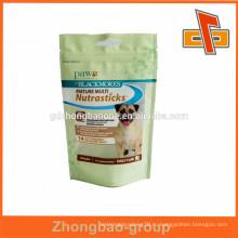 Примите заказной пакет для упаковки собачьего корма с застежкой-молнией в Гуанчжоу