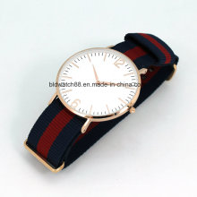 Hot Sale Rose Gold Stainless Steel Slim Watch Man