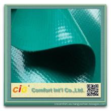 Lona de PVC/PVC malla lona/transparente encerado del PVC para el carro de la tienda de barco