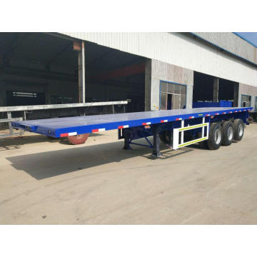 20-40 FT Container Carrier Semi Trailer Flatbed