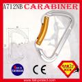 Certificat CE Type D Escalade 23KN Carabine en aluminium
