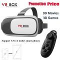 2016 Самые горячие очки виртуальной реальности 3D VR Box 2.0 для смартфонов