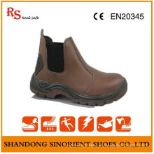 No Lace Blundstone Safety Shoes, Steel Toe Work Shoes RS026