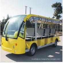 China Fabricación de autobuses turísticos eléctricos de 11 plazas para Square (DN-11)