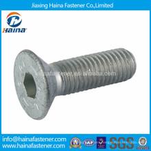 DIN7991 dacromet bolt, hex socket countersunk head screw