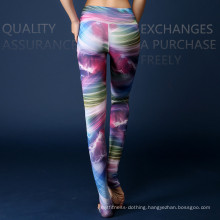 2016 Fitness Breathable Colorful Customized Yoga Compression Tights